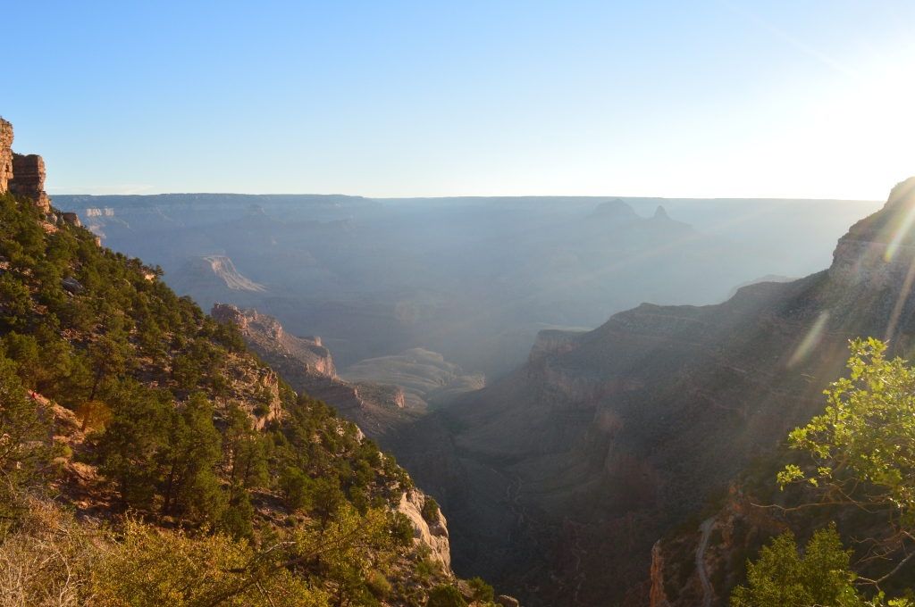 One of the amazing views from inside the Canyon