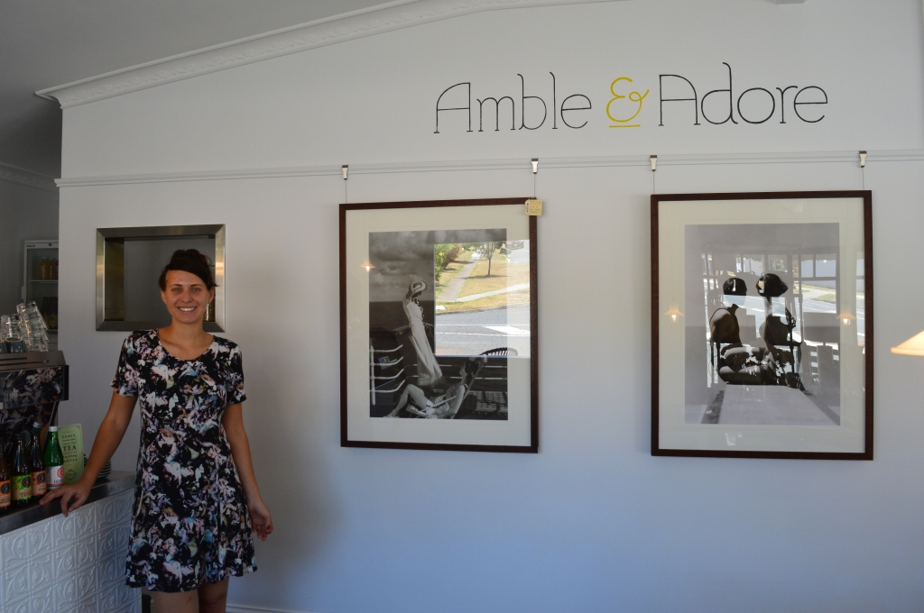 Amble and Adore owner Adrianna