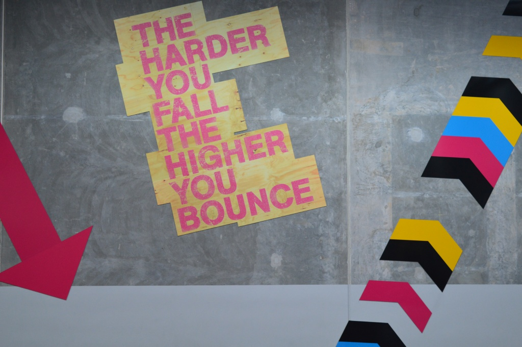 The harder you fall: the higher you bounce