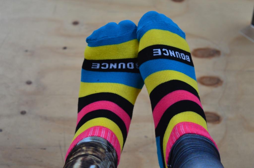 Bargain Bounce Grip Socks