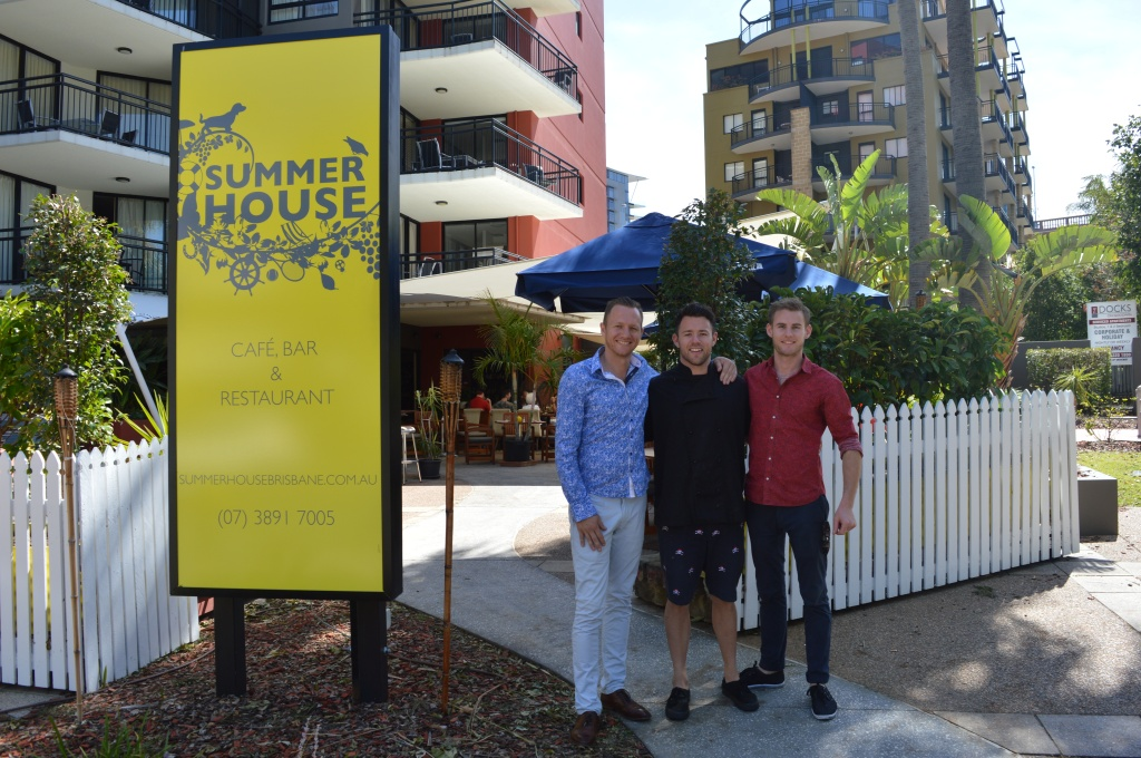 Summer House owners Nathaniel, Jesse and Chris