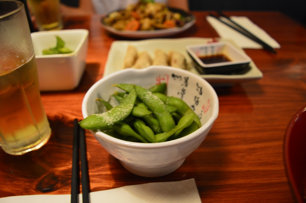 Edamame, if its green it's healthy, right?