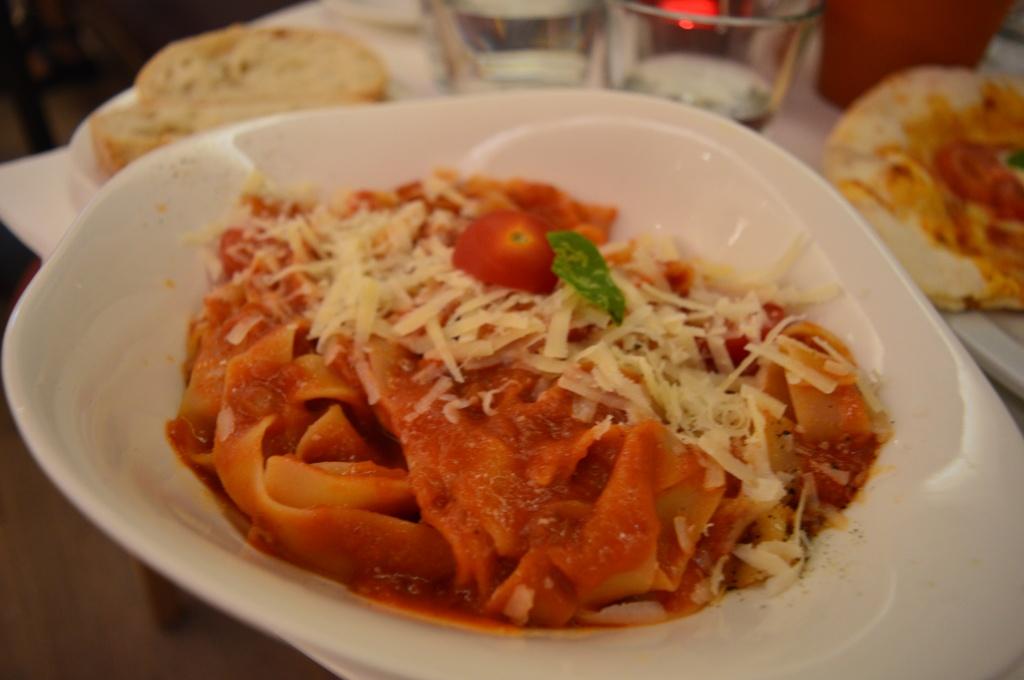 Pomodoro Tagliatelle: Heaven