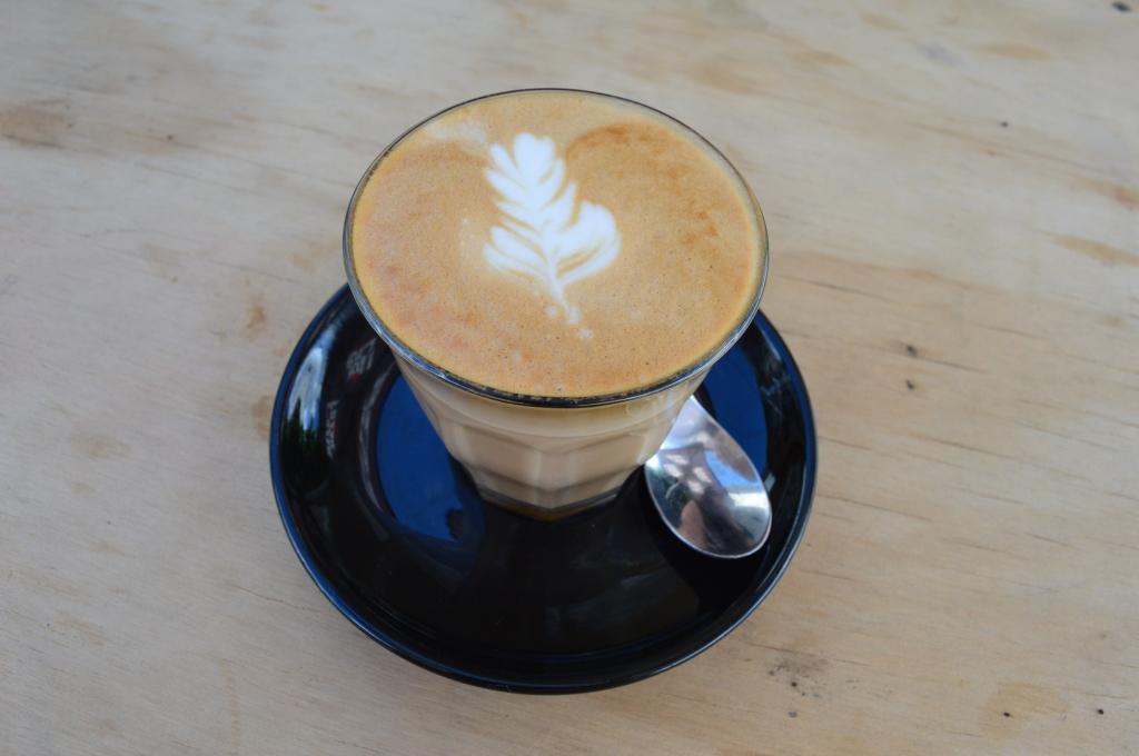 Leafy latte