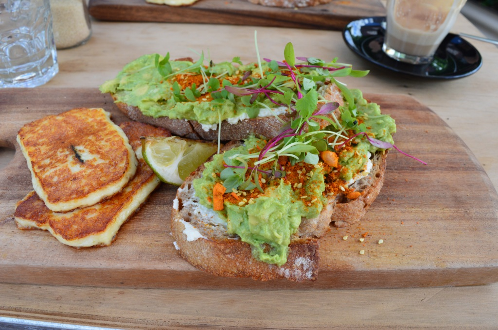 Haloumi and Avocado, does it get better?