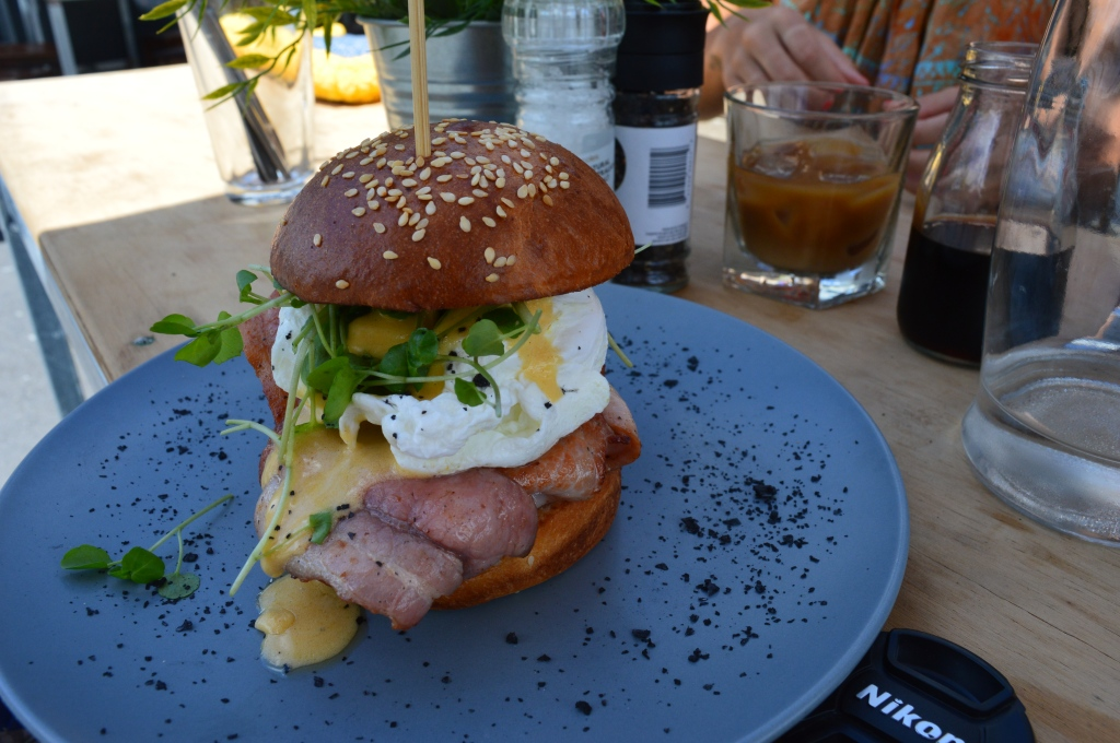 Burger for breakfast?