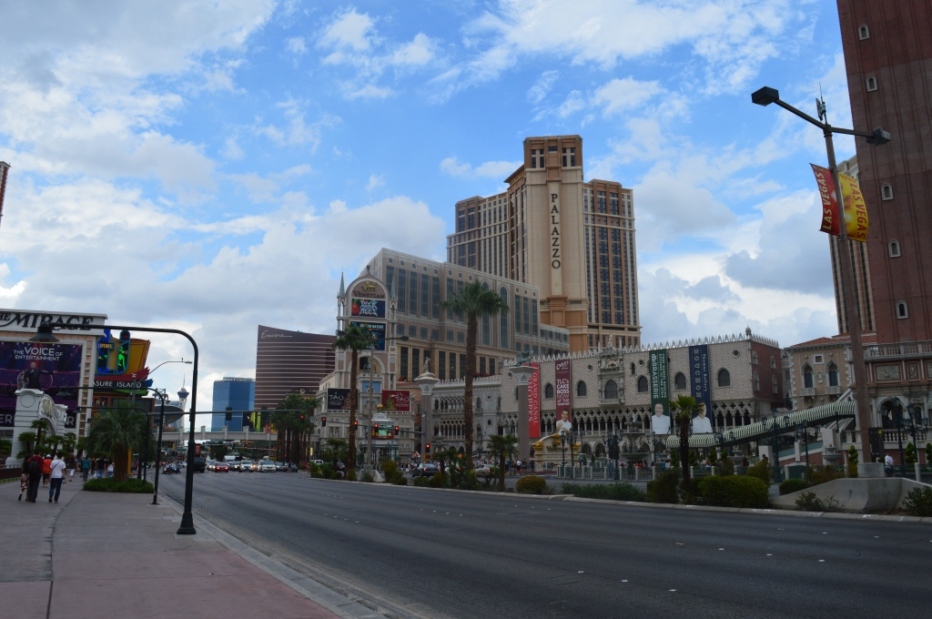 The Centre of the strip
